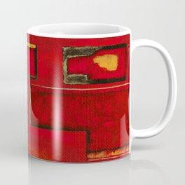 Detached, Abstract Shapes Art Coffee Mug