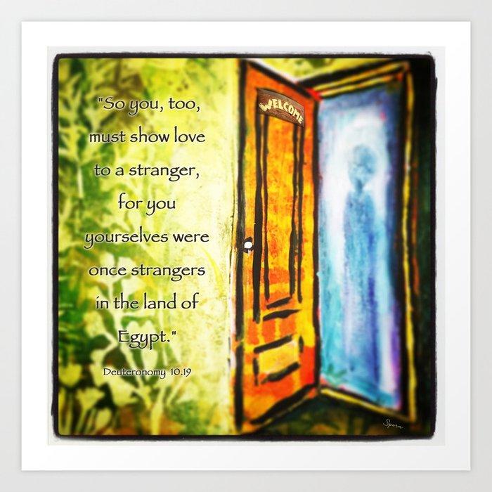 Welcome Strangers Art Print