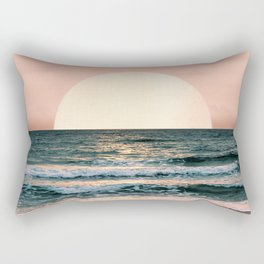 Summer Sunset Rectangular Pillow