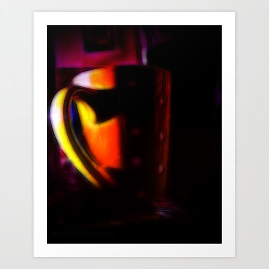 MY CUP OF TEA Art Print
