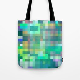 Pixel 2 Tote Bag
