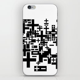 PLUS/MINUS iPhone Skin