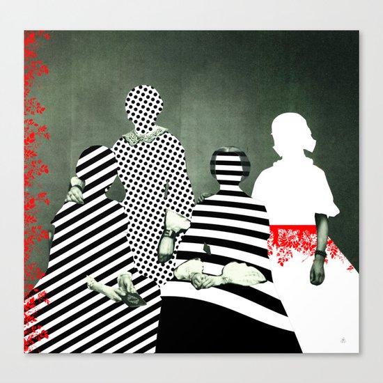 Fragmented Memories Canvas Print