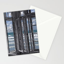 the ocean is coming to take it away . . . haha! Stationery Cards