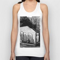 manchester Tank Tops featuring Manchester by Marcus Leoni