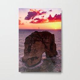sunset #decor #buyart #society6 Metal Print