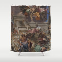 Sant'Ignazio Church 2, Rome Shower Curtain
