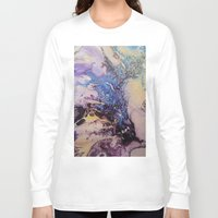 exo Long Sleeve T-shirts featuring Exo- Birth Series I by Melina Green