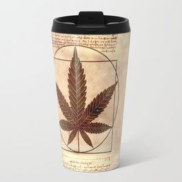 vitruvian marijuana Travel Mug