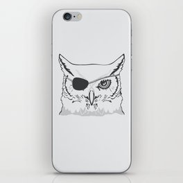 Owl Pirate iPhone Skin