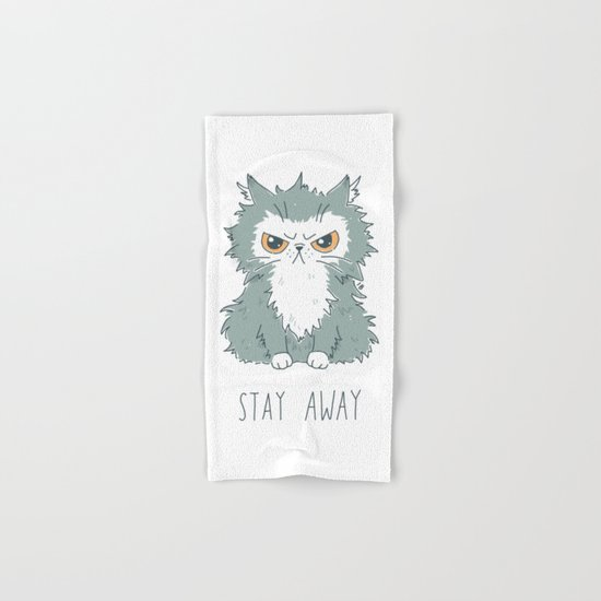 Stay Away Hand & Bath Towel