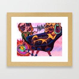 Mystery of the Sun Framed Art Print