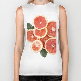 Grapefruit & Roses 01 Biker Tank