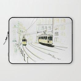 Lisbon Aquarelle No.9 Laptop Sleeve