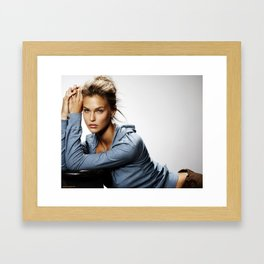 Bar Refaeli Framed Art Print