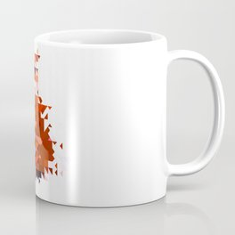artwork abstract fox Coffee Mug