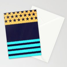 My US Flag & Jeans Stationery Cards