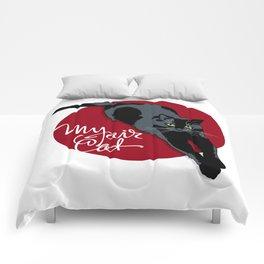 My fair cat in the black Comforters