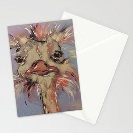 Odetta the Ostrich Stationery Cards