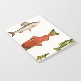 Fishing Line Notebook