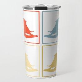 Sugar Glider Pop Art Travel Mug