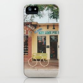 The Original Key Lime Pie Bakery iPhone Case