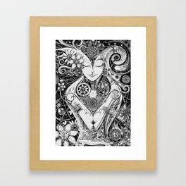 Dichotomy of Man Framed Art Print