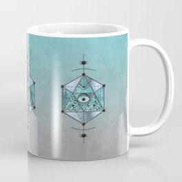 Sacred Geometry Eye Of Protection Coffee Mug