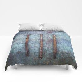 Three Comforters