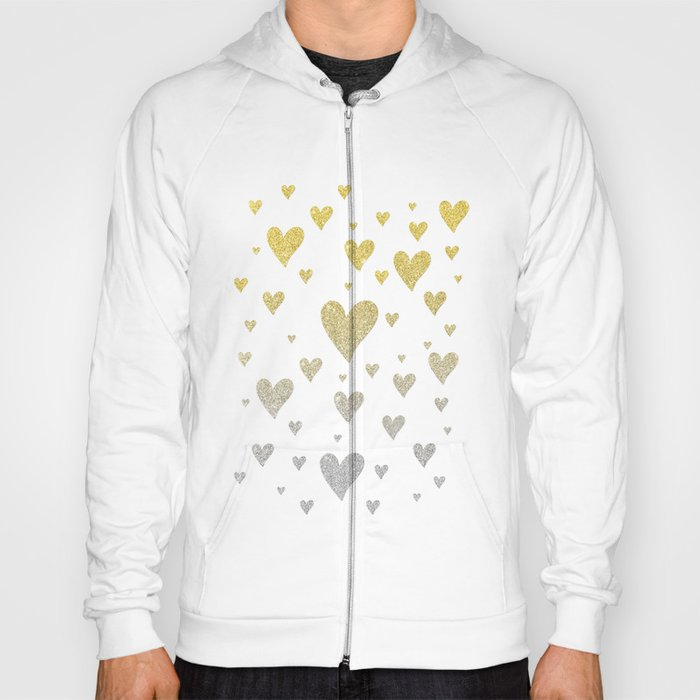 Glitter Hearts Hoody