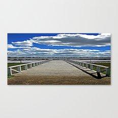 Beyond  the Pier Canvas Print