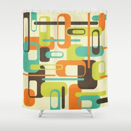 Old Skool Shower Curtain