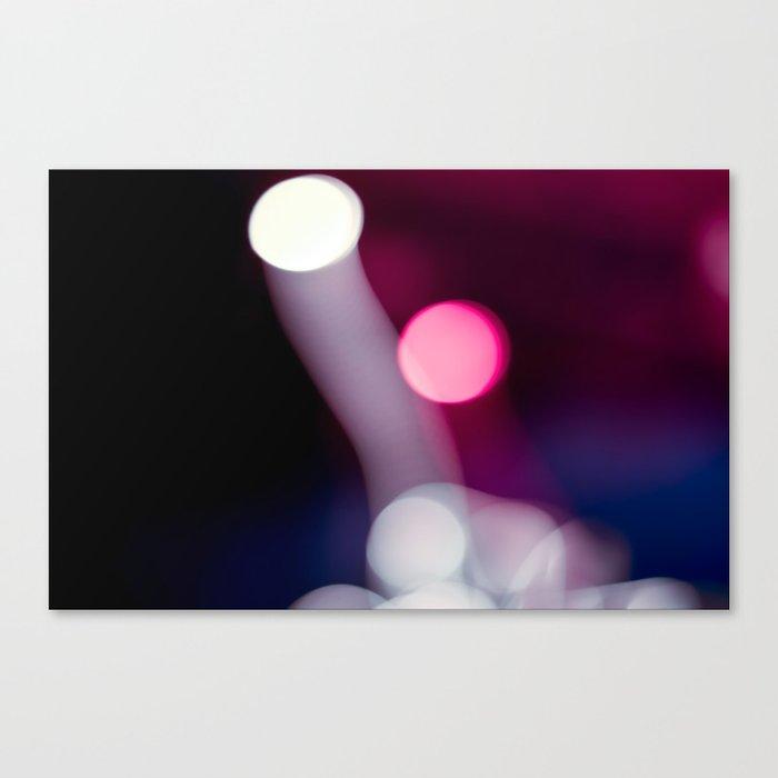 Bokeh Fireworks Canvas Print