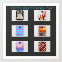 samsung Art Prints featuring  New Samsung Galaxy S4 by  Alexia Miles photography
