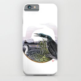 DW-019 Song Of The Loons iPhone Case