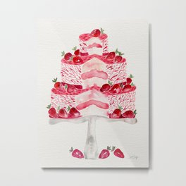 Strawberry Shortcake Metal Print