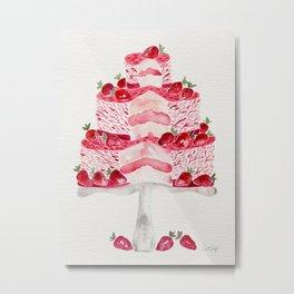 Strawberry Shortcake Metal Print