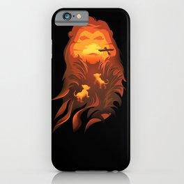 The Lion King - Into The Wild iPhone Case
