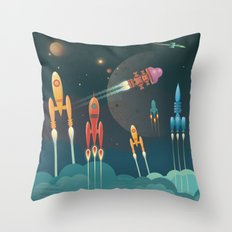 Grand Départ Throw Pillow