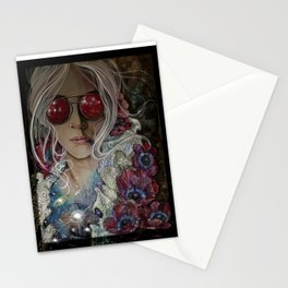 The stars within her Stationery Cards