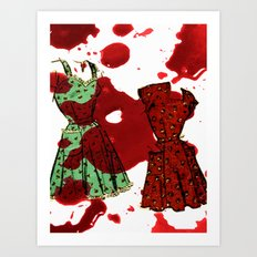 Susie homemaker  Art Print