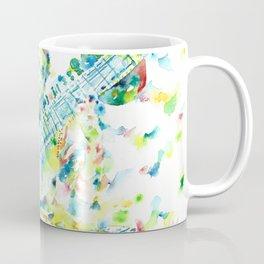 RAVI SHANKAR - watercolor portrait Coffee Mug