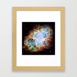 The Crab Nebula Framed Art Print