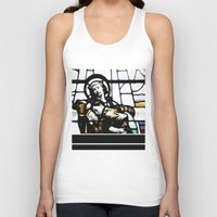 christ Tank Tops featuring Jesus Christ by miss|melissa