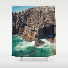 Hell's Mouth Grotto Shower Curtain