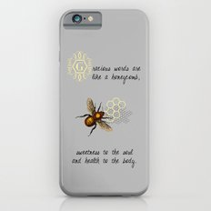 Gracious Words are Like a Honeycomb... Slim Case iPhone 6s
