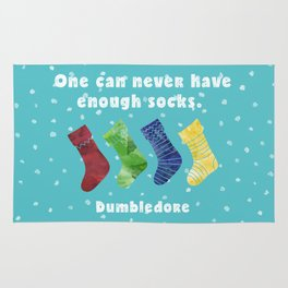 One can never have enough socks. Dumbledore Rug
