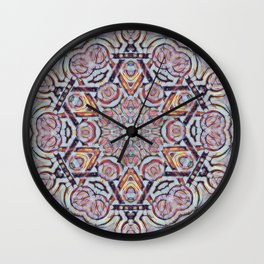Faces Of Judaism Wall Clock