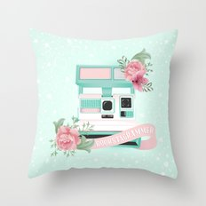 Bookstagrammer Throw Pillow