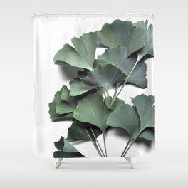 ginkgo biloba Shower Curtain